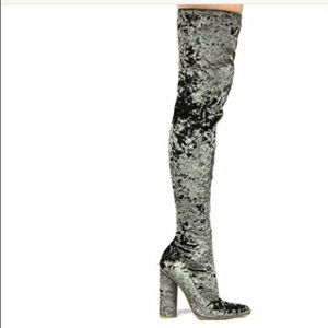 Cape Robbin Thigh High Stretch Over the Knee Boot